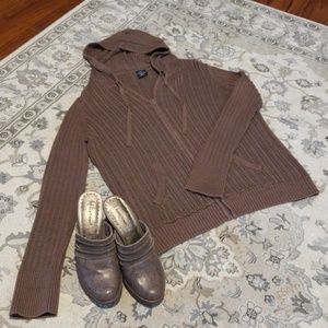 Brown Sweater Hoodie